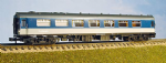 374-221 Graham Farish: Mk1 FK Pullman Kitchen Car 1st. Reverse Blue/Grey